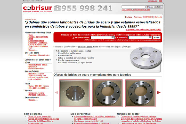 Proyecto de Marketing Industrial para COBRISUR
